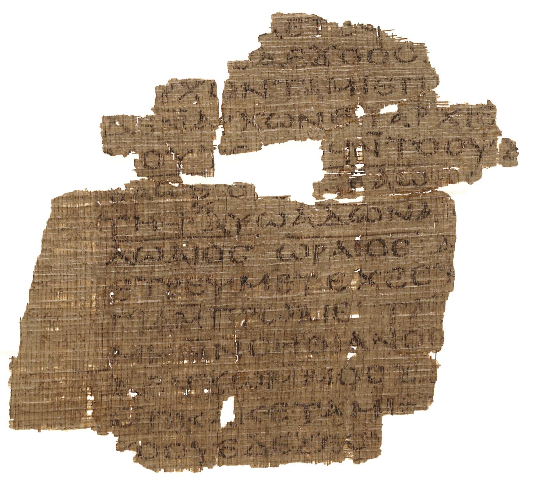 Fragment des Berliner Koptischen Buches