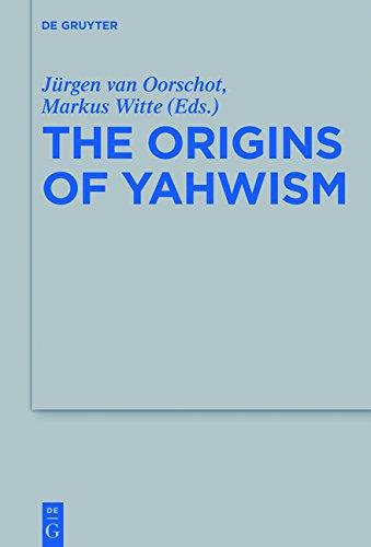 Origins of Yahwism