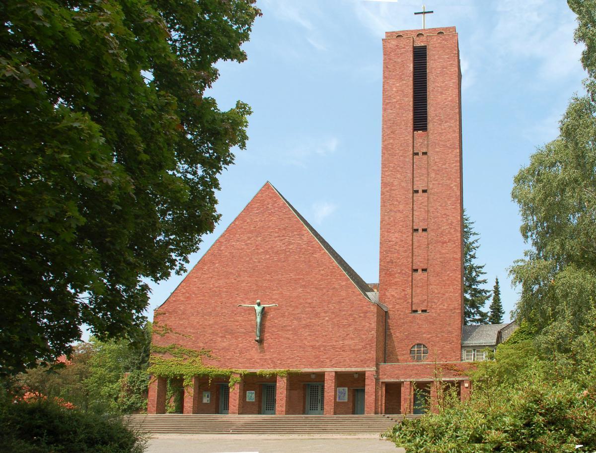 Jesus Christus Church.Berlin Dahlem