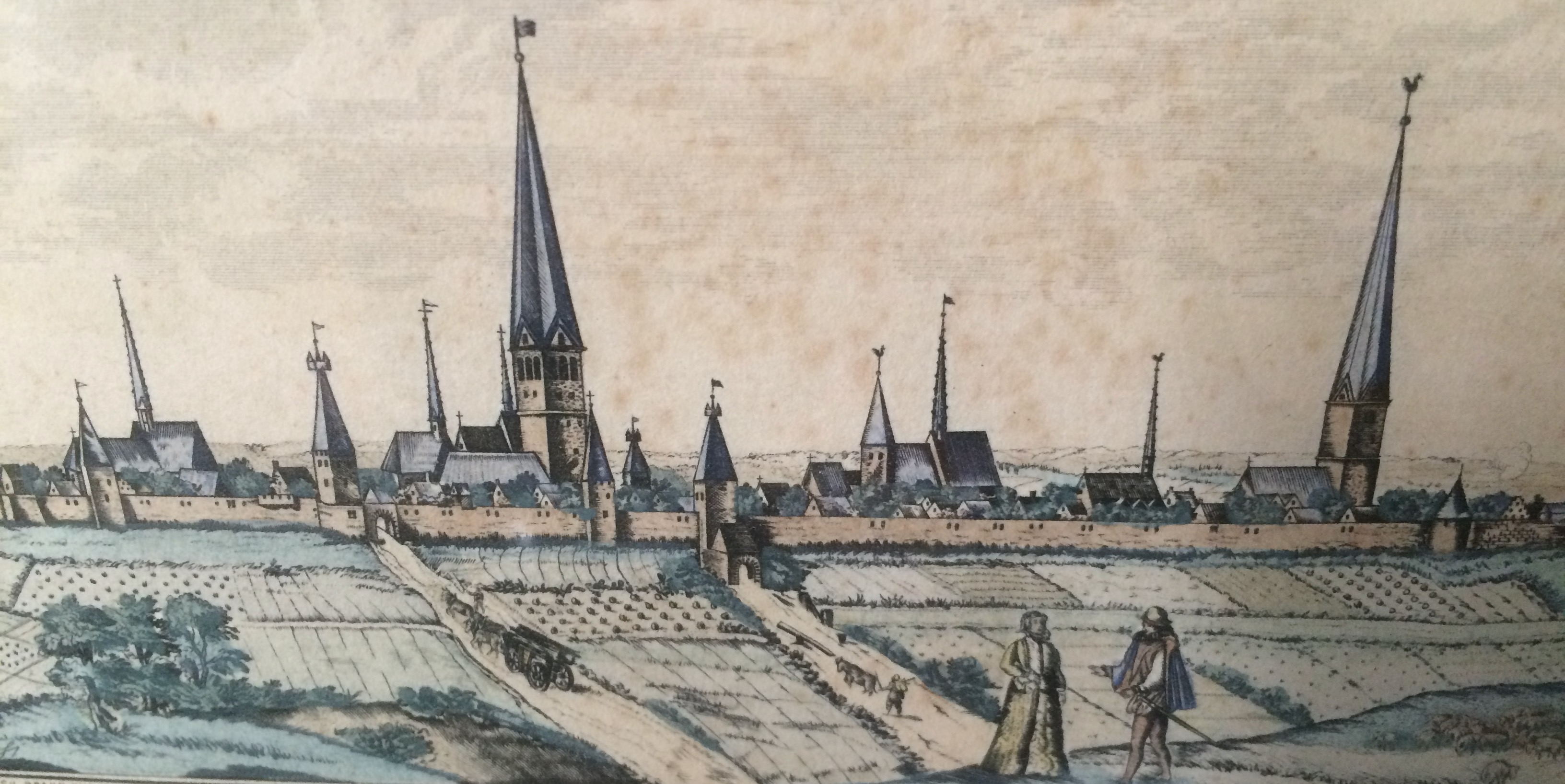 Kirche und Stadt