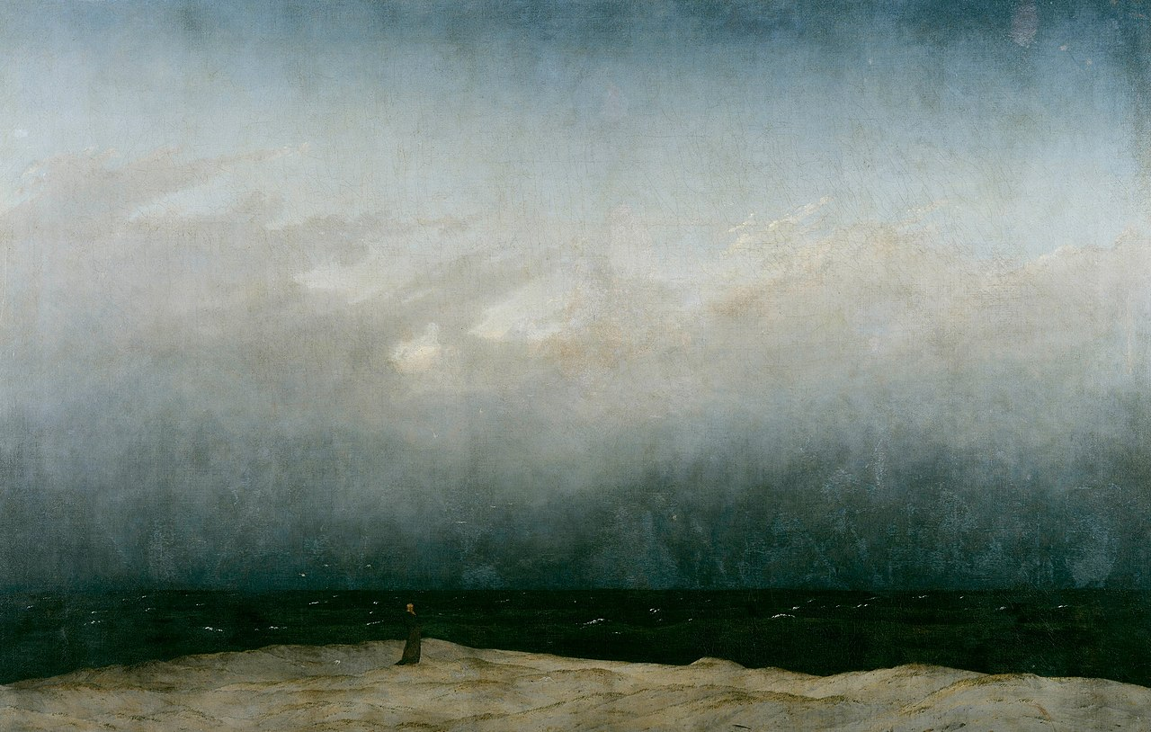 Mönch am Meer