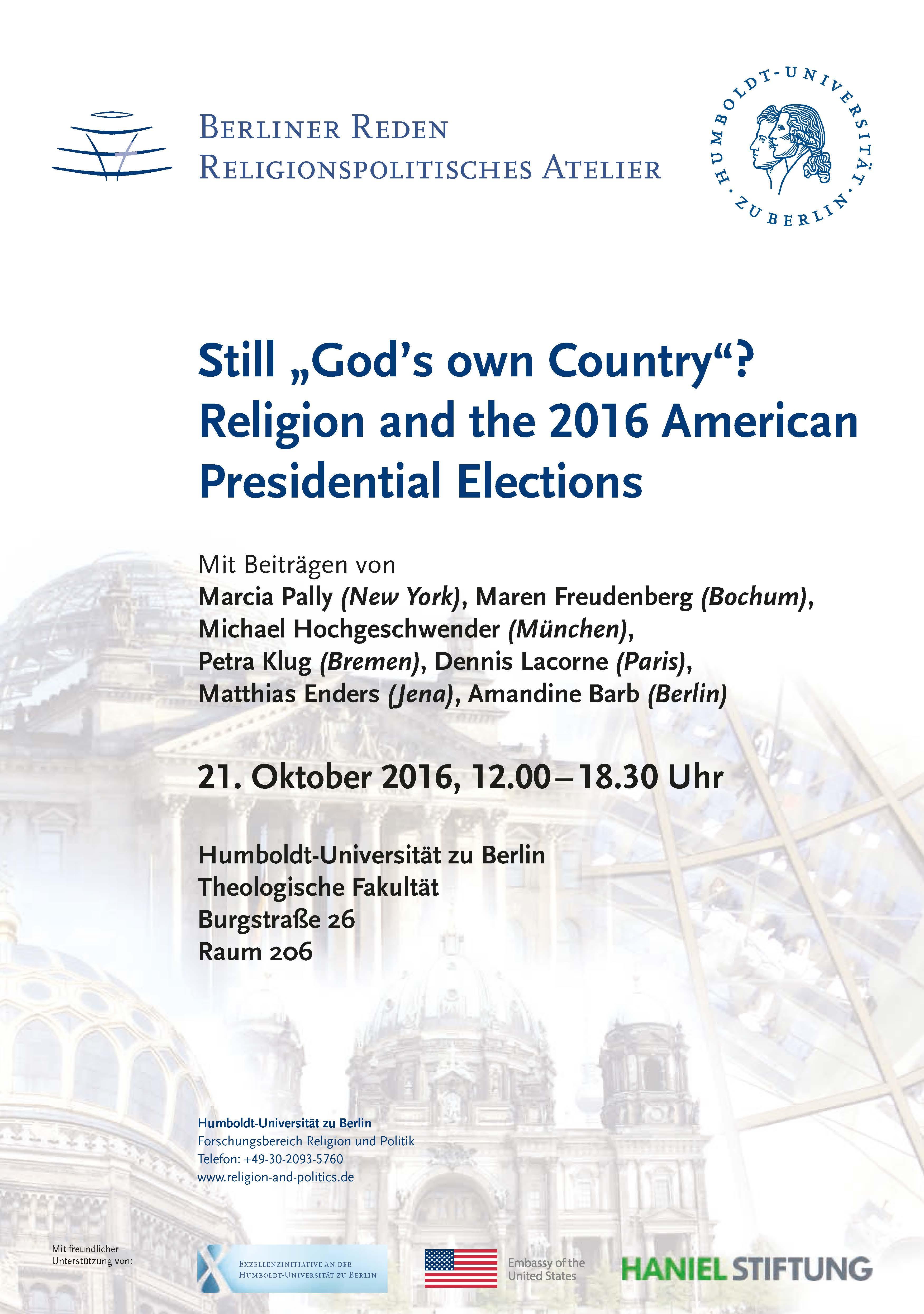 Politik und Theologie (46) 10 2016 A5 web